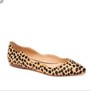 Loeffler Randall Millán flat leopard print